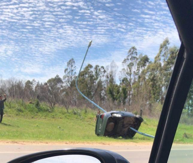 Accidente fatal en el acceso a la ciudad de Concordia