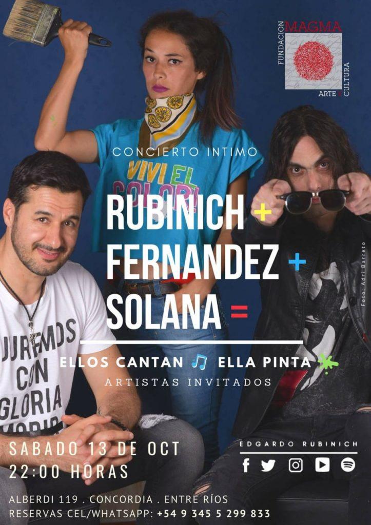 Este sábado Fundación Magma presenta Concierto íntimo de Edgardo Rubinich