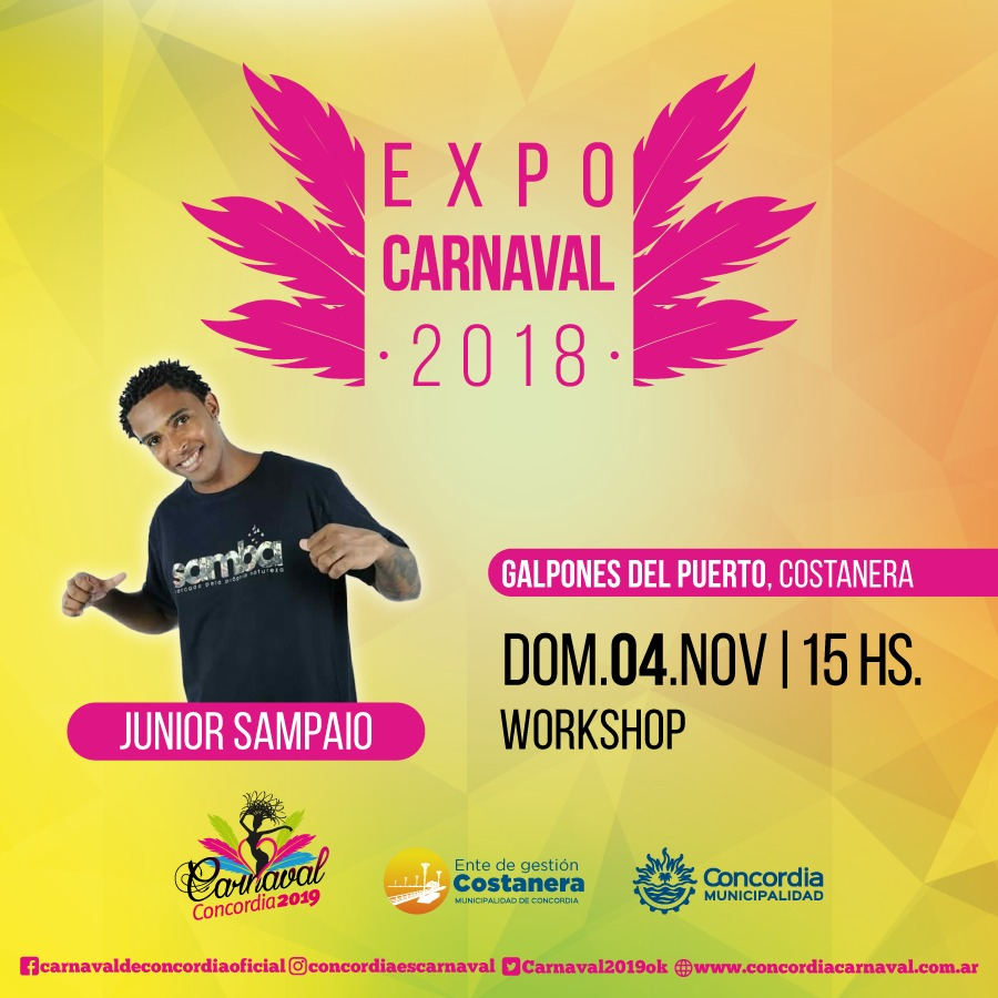 Expo carnaval - Junior Sampaio