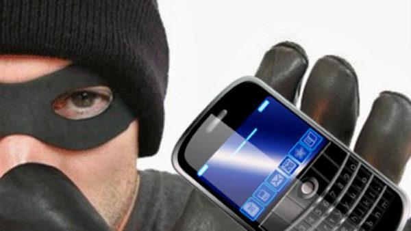 Roban celulares en Colectivos