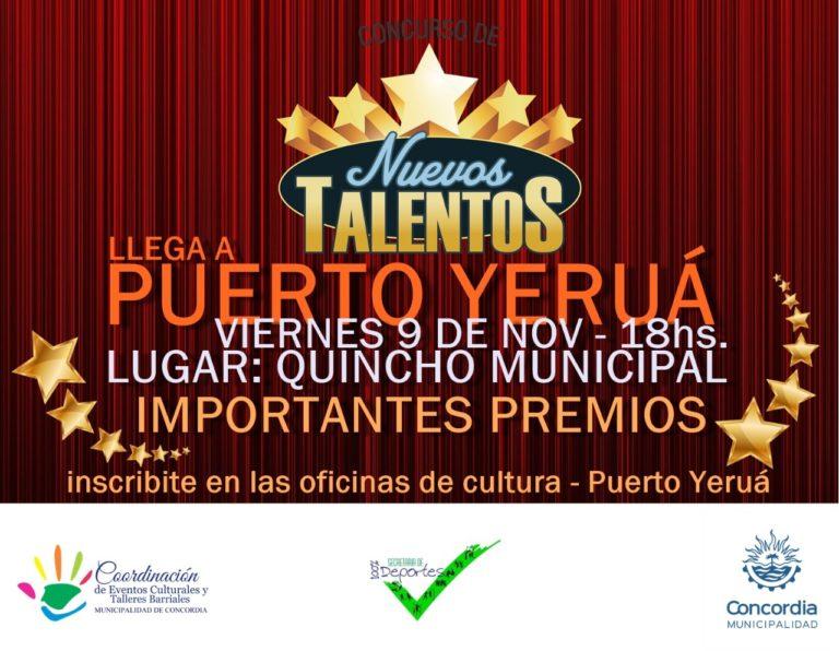 La Búsqueda de Nuevos Talentos llega a Puerto Yeruá.