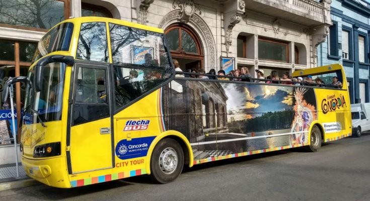 bus turístico Concordia