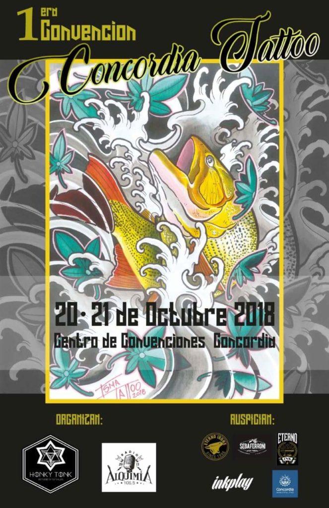 Con tatuadores de todo el país y del Uruguay, comienza la Convención Concordia Tattoo