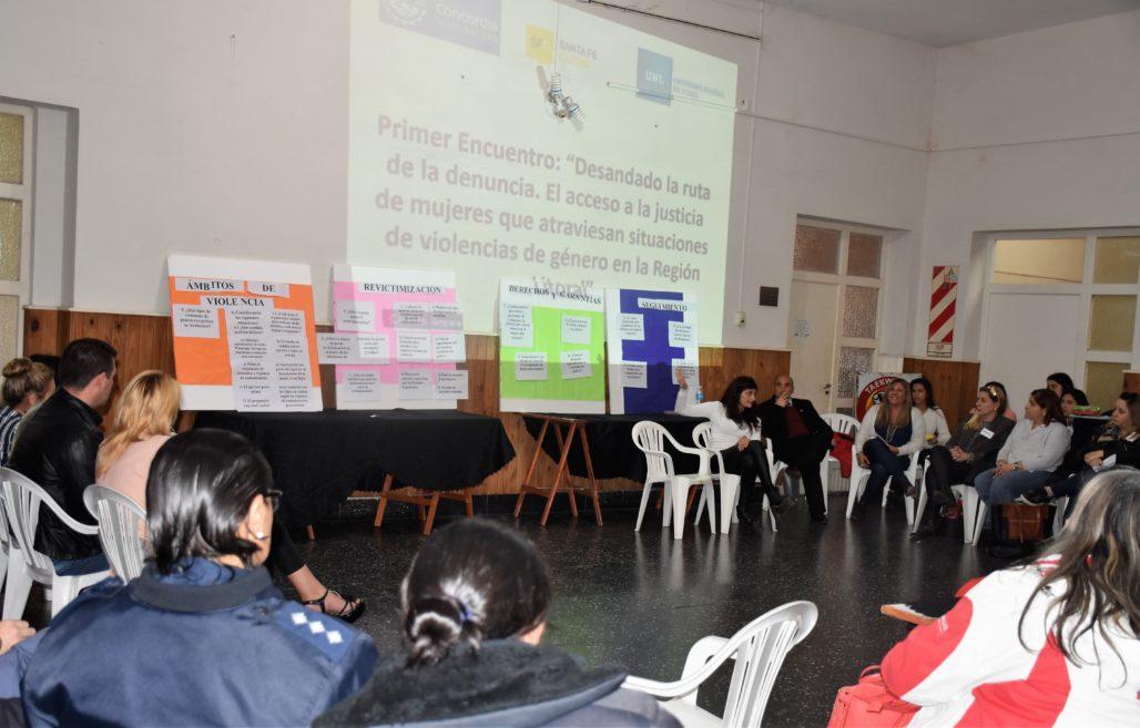 Jornada Interinstitucional sobre Violencia de Género
