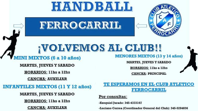El Handball tuvo su anhelado regreso