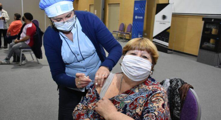 2 mil nuevos concordienses recibieron la vacuna contra el Covid-19
